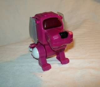 vintage 2000 Sega toys purple Robo puppy McDonalds Tiger Electronics