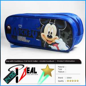 DISNEY MICKEY MOUSE Pencil Vanity Case Box Bag W/FREESHIP