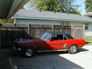 1967 Ford Mustang 2 Door Sedan   Automatic Transmission   Project Car