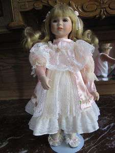 Dynasty Doll Collection 16 1/2 porcelain doll |