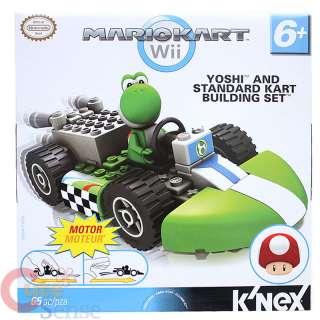 Nintendo Super Mario Kart Wii Yoshi Standard Kart Building Set / Lego