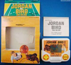 90s TIGER ELECTRONIC MICHAEL JORDAN vs. LARRY BIRD GAME