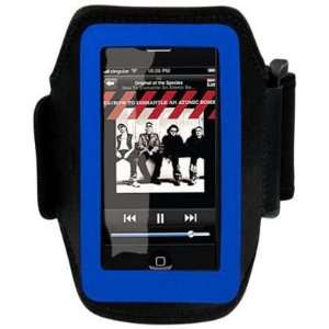 Cuffu Itouch/iphone/iphone 3g Sport Armband blue