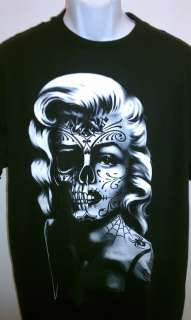 DAY OF THE DEAD MARILYN MONROE T SHIRT NEW SM 2X