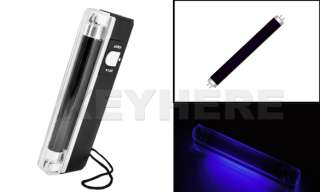 Fake Money Detector UV Black Light Torch Portable Lamp