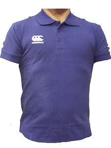 Canterbury Rugby CCC Waimak Polo Classic New Mens Royal Blue