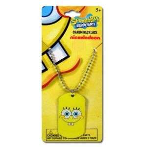 18 pc lot Spongebob Dog Tag Birthday PARTY FAVORS NEW