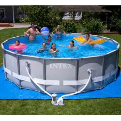 16x48 Intex Ultra Frame Above Ground Swimming Pool