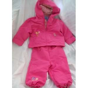 Disney Winnie the Pooh and Piglet, Pink 2 Piece Baby Girl, 3 6 Months
