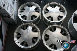 Four 94 02 Chevy GMC Van 1500 Factory 15 Wheels OEM Rims Tahoe Yukon