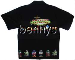 NEW Las Vegas Welcome, slot machines aloha shirt, XL