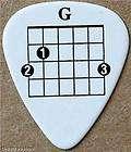 Guitar Pick Necklace, Guitar Pick Keyrings items in THE GUITAR PICK