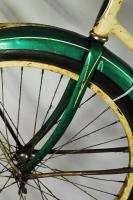 Schwinn Wasp balloon tire bicycle bike green rat rod Bendix