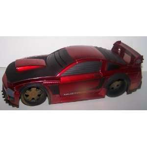 Scale Diecast Battle Machines 2006 Ford Mustang in Color Red: Toys