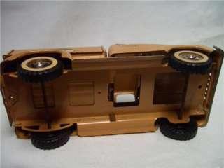 Vintage Sportsman Tonka Hunt Fishing Truck Toy 2 piece |