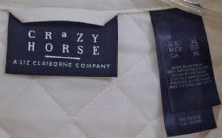 LIZ CLAIBORNE CRAZY HORSE LADIES JACKET / COAT XL NEW