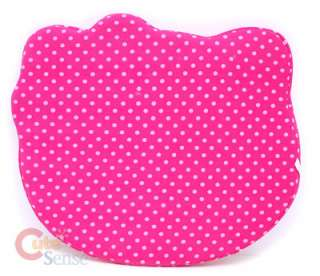 Sanrio Hello Kitty Chair Cushion Pink Dots Car Accesories 2