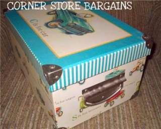 boys Box Organizer STORAGE TRUNK tRICYCLE cAR sCOOTER wAGON LAUREN