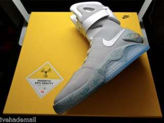 Nike Air Mag Marty McFly Back To The Future Sz 9 Limited to 1500 pairs