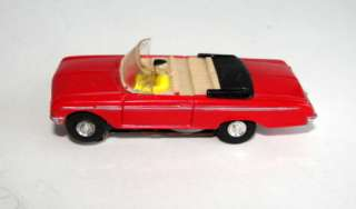 HO VIBRATOR SLOT CARS FORD CONVERTIBLE HARDTOP PICK UP TRUCK ALL RED
