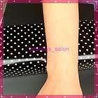 black white polka dots nail art hand wrist rest holder cushion pillow