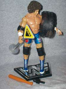 WWE Figure Deluxe Aggression Carlitos & Accessories