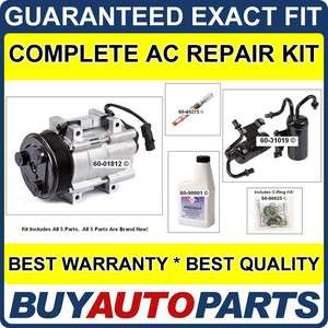 DODGE RAM AC REPAIR KIT NEW COMPRESSOR 06   09 CUMMINS