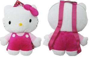HELLO KITTY SOFT PLUSH BACKPACK SANRIO NEW 14