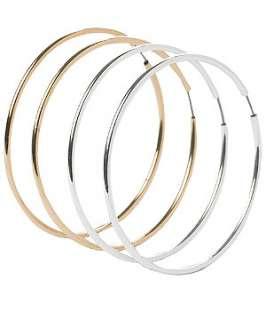 null (Multi Col) 2pk Hoop Earrings  213540799  New Look