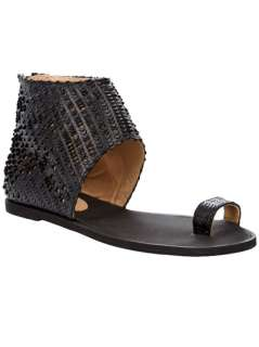 Maison Martin Margiela Scaled Effect Sandal   Tessabit   farfetch