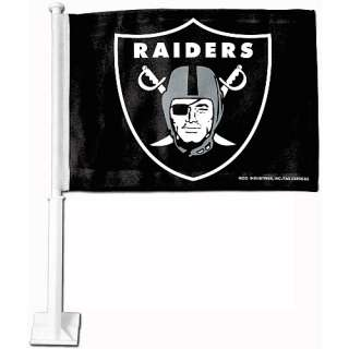 Oakland Raiders Car Accessories Rico Oakland Raiders Car Flag