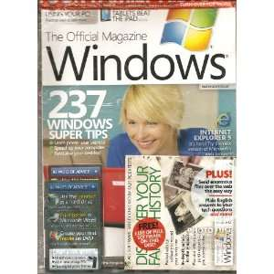 The Official Magazine Windows (237 windows super tips, December 2010)