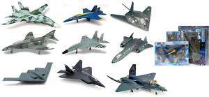 NEW RAY MODERN FIGHTER JET MODEL KIT CASE OF 12 21317