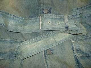 Ralph Lauren Polo Denim Jacket Jeans Trench Coat XL