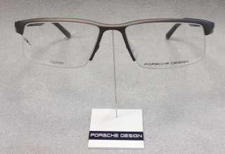Original PORSCHE DESIGN Brille P8166 col B Braun TITAN