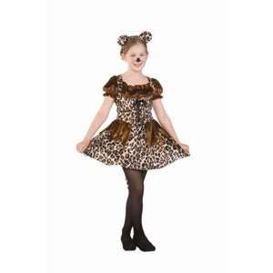 Cutie Cheetah   Child Large Costume: Toys & Games