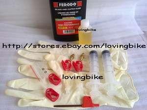 Avid Brake BLEED KIT Elixir Juicy w/Ferodo DOT 5.1 NEW