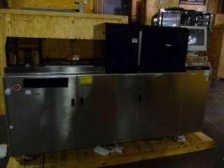 LAM OnTrak DSS 200 Wafer Scrubber System Working