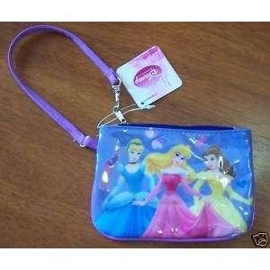 Disney Princesses Mini Wallet Purse Color Light Purple