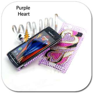 BLING Hard Skin Case Cover Sony Ericsson Xperia Arc X12