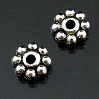 A442/ 150Pcs Tibetan silver Daisy spacer beads