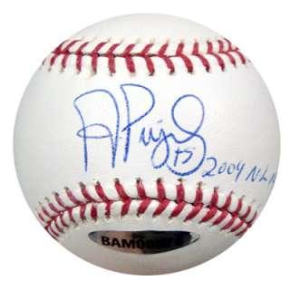 Albert Pujols Autographed Signed MLB Baseball 2009 NL MVP UDA