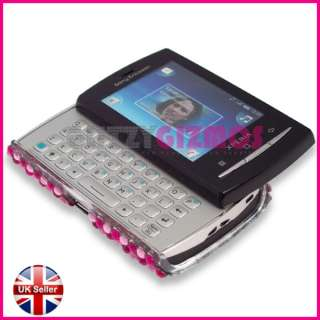 BLING DIAMOND GLITTER CRYSTAL GEM COVER CASE FOR SONY ERICSSON X10