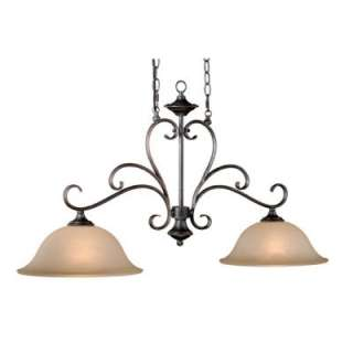 Pendant Lighting Fixture, Vintage Bronze, Cream Cognac Glass