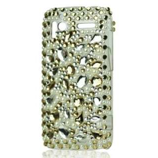 HTC Sensation XE Strass Bling Diamond Case Tasche Etui Cover Hülle