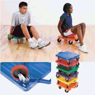 Physical Education Scooter Boards   Multi surface 16 Scooters Set
