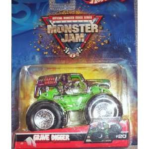 2006 Hot Wheels Monster Jam *CHROME* #43 GRAVE DIGGER Official Monster