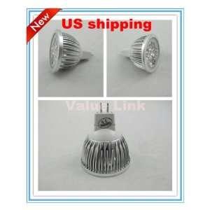 NEW5x 4W Warm White MR16 High Power light bulb focus 4 LED spot Lamp