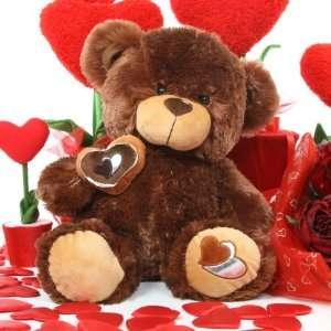 Teddy Bear   Sweetie Pie Big Love   Hazelnut Brown Love Bear by Giant