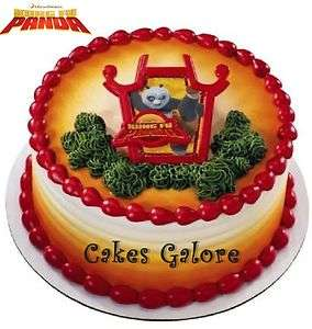 Kung Fu Panda Master Po Cake Cupcake Decoration Topper Layon |